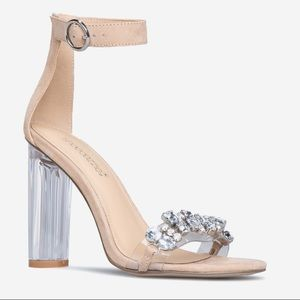 Nude ankle strap Sandal